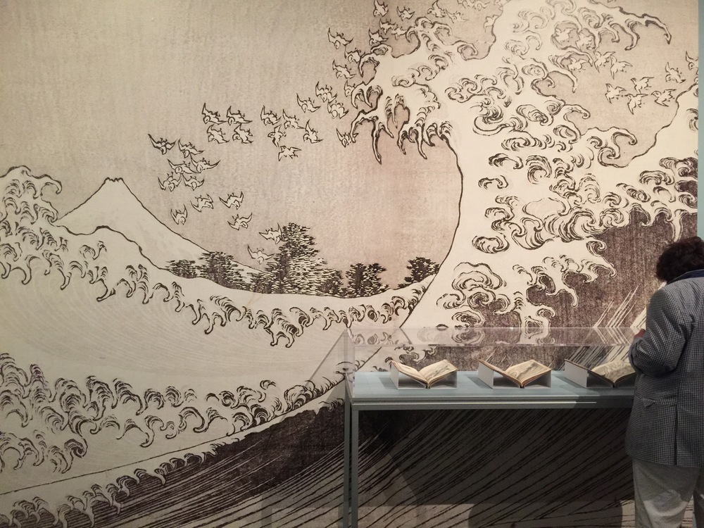 Hokusai exhibit at the MFA Boston through Aug. 9.